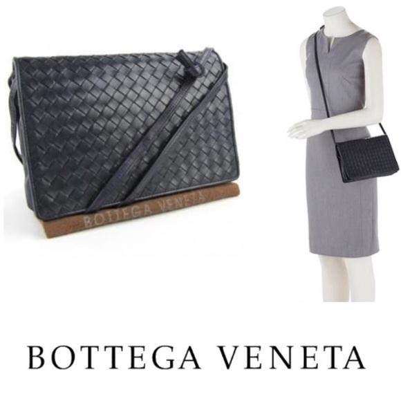 0690b5fc1d513 Bottega Veneta Bags | Authentic Intrecciato Napa Flap Bag | Poshmark